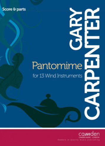 Pantomime (original version, score and parts)