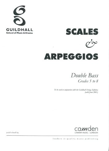 Guildhall Double Bass Scales - Gd.5-8