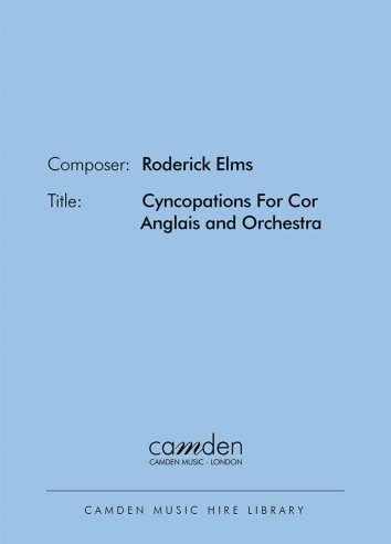 Cyncopations for Cor Anglais and Orchestra